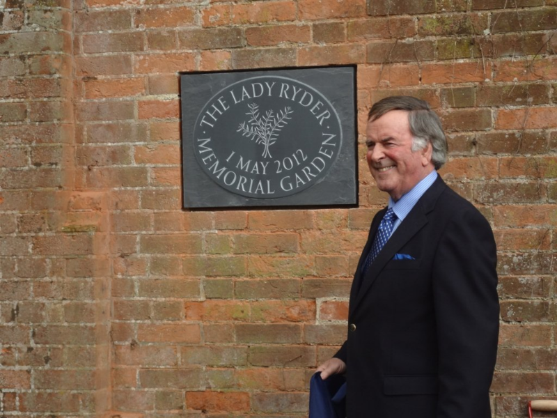 Wonderful The Lady Ryder Memorial Garden Restored With Love And Hard Work  With Luxury Sir Terry Wogan Opens Garden With Lovely Garden Home Offices Also Best Lunch Covent Garden In Addition Fairy Garden Kits And Wyevale Garden Centre Colchester As Well As Garden Gate Latches Additionally Romantic Garden Nursery From Lrmgcouk With   Luxury The Lady Ryder Memorial Garden Restored With Love And Hard Work  With Lovely Sir Terry Wogan Opens Garden And Wonderful Garden Home Offices Also Best Lunch Covent Garden In Addition Fairy Garden Kits From Lrmgcouk